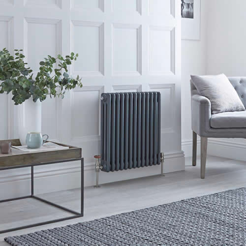 Anthracite Column Radiators