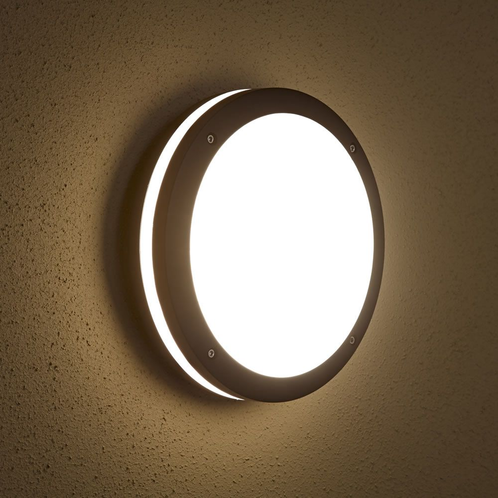 Biard Architect IP54 Outdoor Wall Light - Round