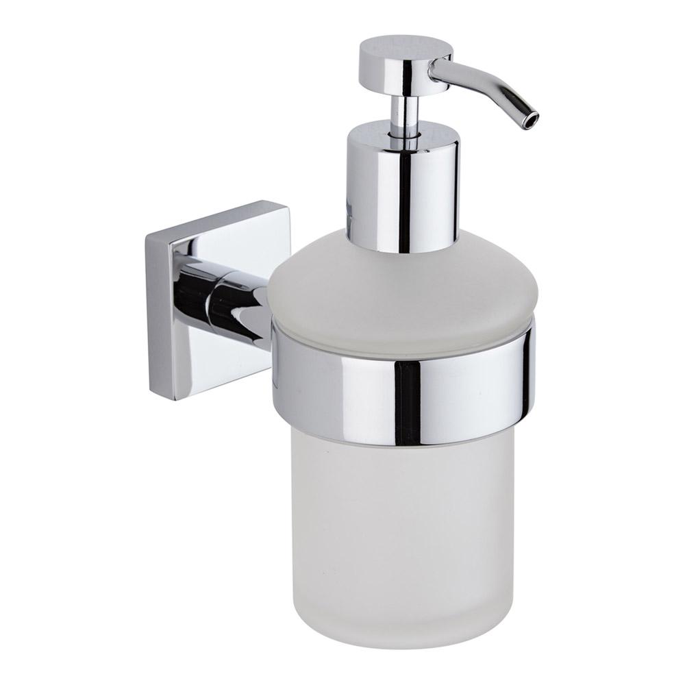 Milano Liso Chrome Soap Dispenser