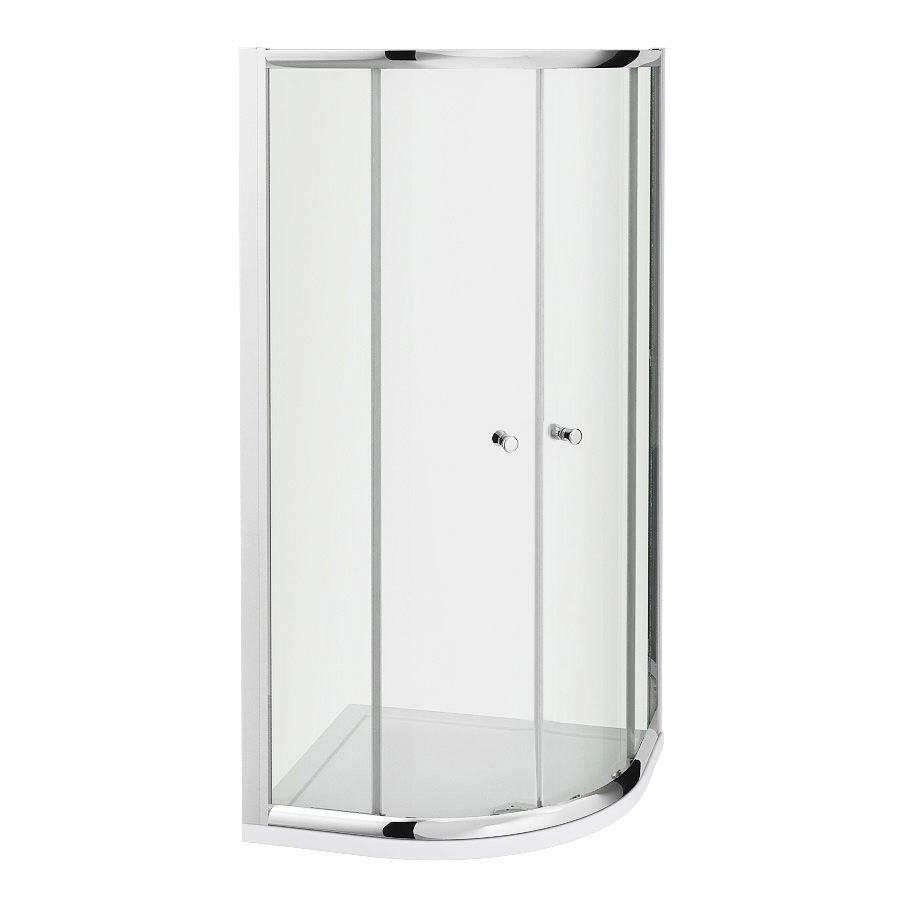 Milano Portland - Reversible Quadrant Shower Enclosure - 900mm x 900mm
