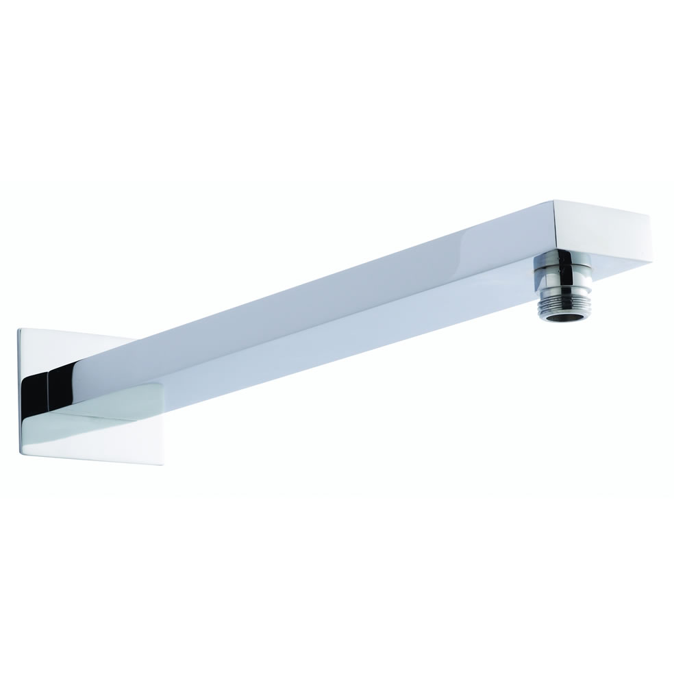 Milano Arvo - Modern Large Rectangular Shower Arm