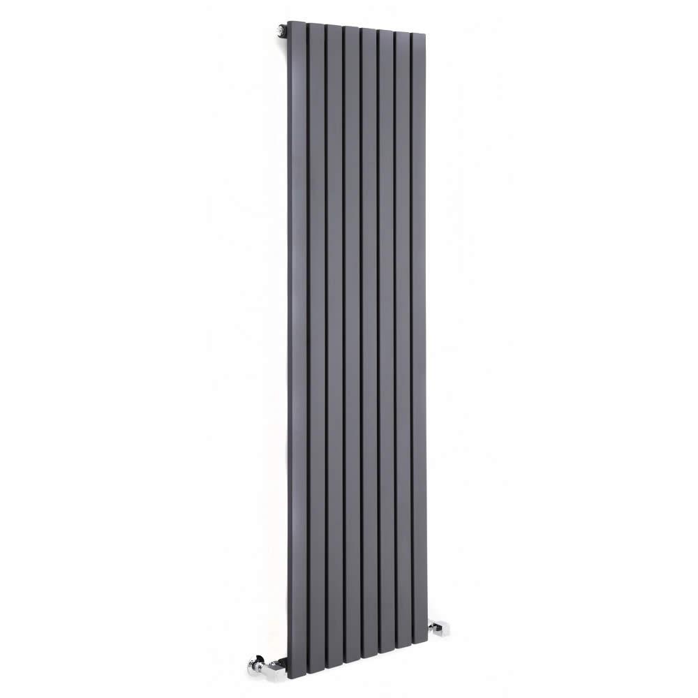 Milano Capri - Anthracite Vertical Flat Panel Designer Radiator 1600mm x 354mm