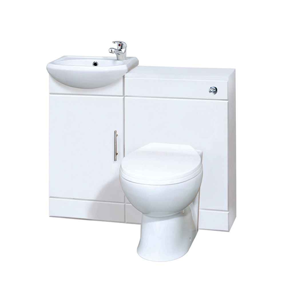 Premier 900mm Vanity Unit & Back to Wall Toilet Set