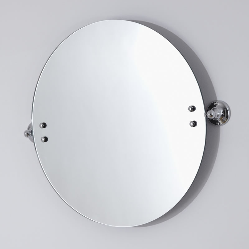 Milano Ambience Round Bathroom Mirror