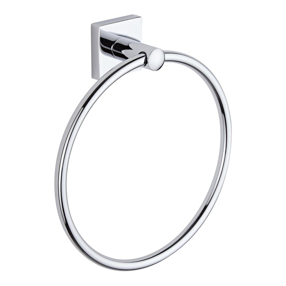 Milano Liso - Chrome Towel Ring
