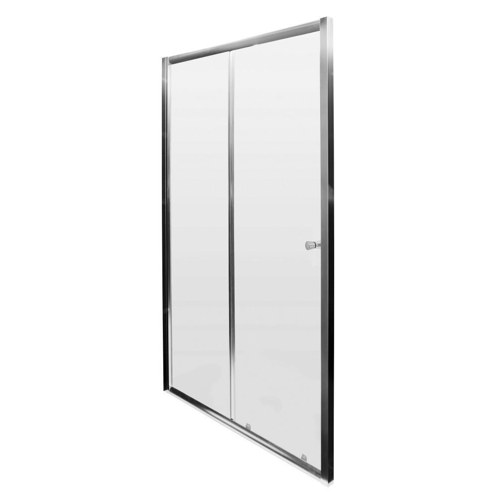 Milano Hutton 1000mm Sliding Shower Door 5mm