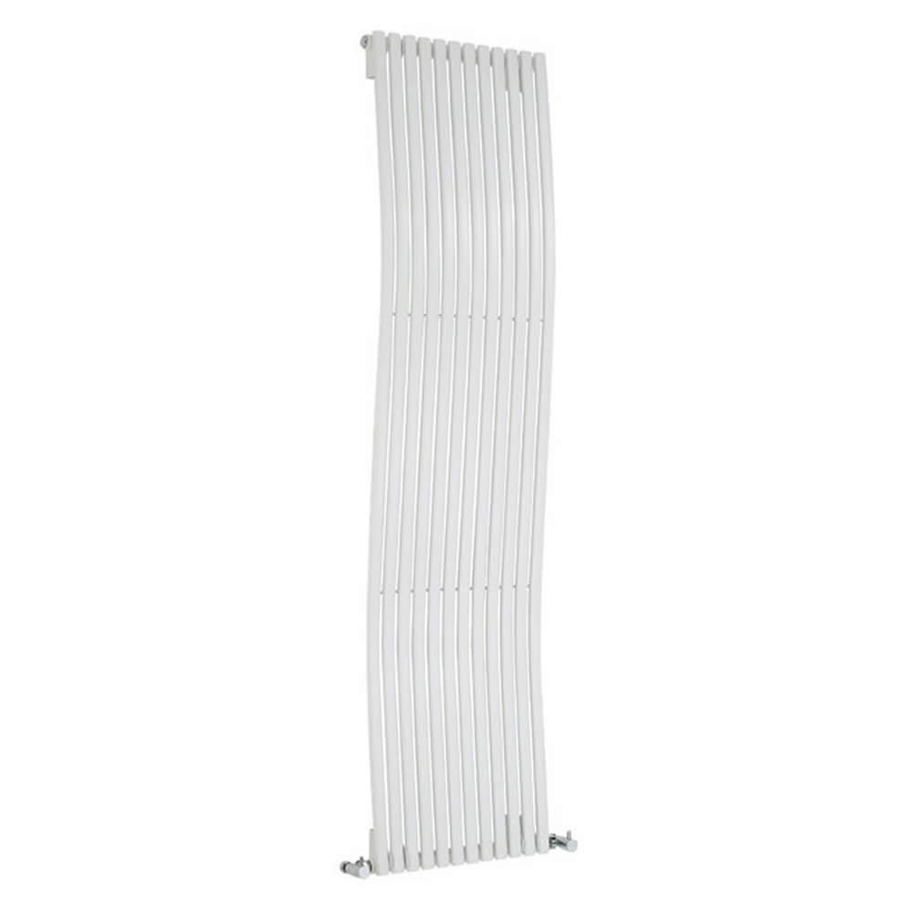 Milano Wave - White Designer Wave Radiator 1600mm x 460mm