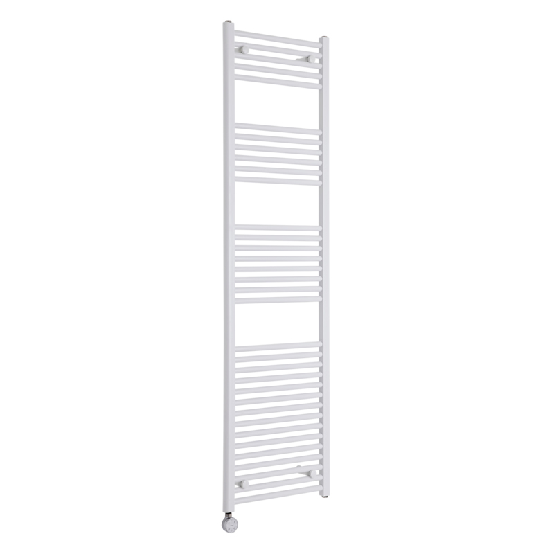 Milano Calder Electric - Flat White Heated Towel Rail 1800mm x 500mm