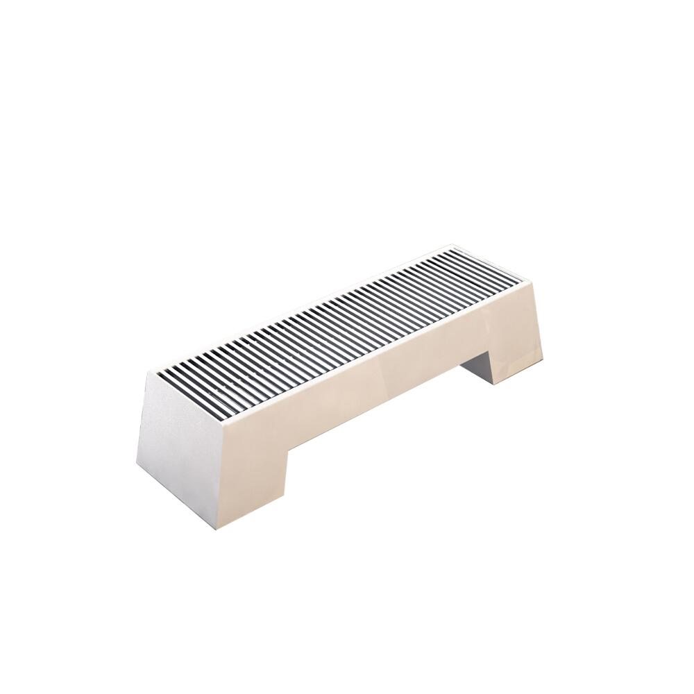 Milano Zita - White Double Panel Low Level Convector Radiator - 200mm x 1000mm