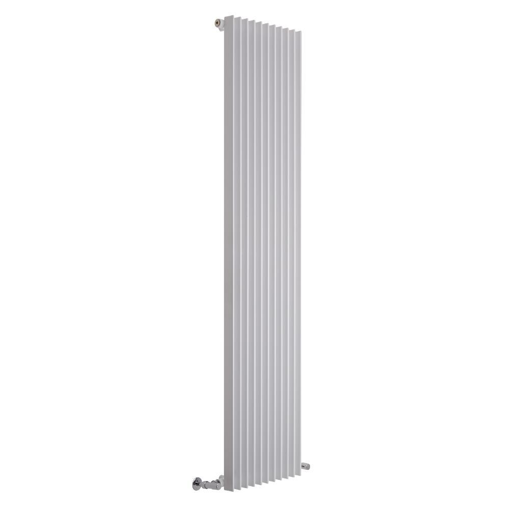 Lazzarini Way - Arezzo - White Vertical Designer Radiator - 1800 x 445mm