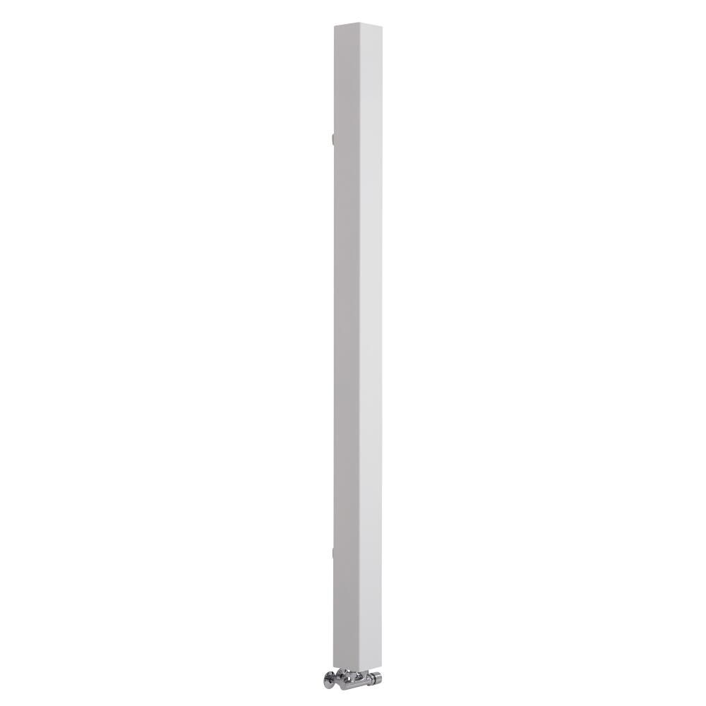 Lazzarini Way - Onetube - White Designer Radiator - 1800 x 100mm