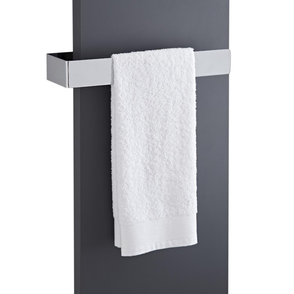 Milano Wall Mounted Towel Rail - 420mm x 60mm