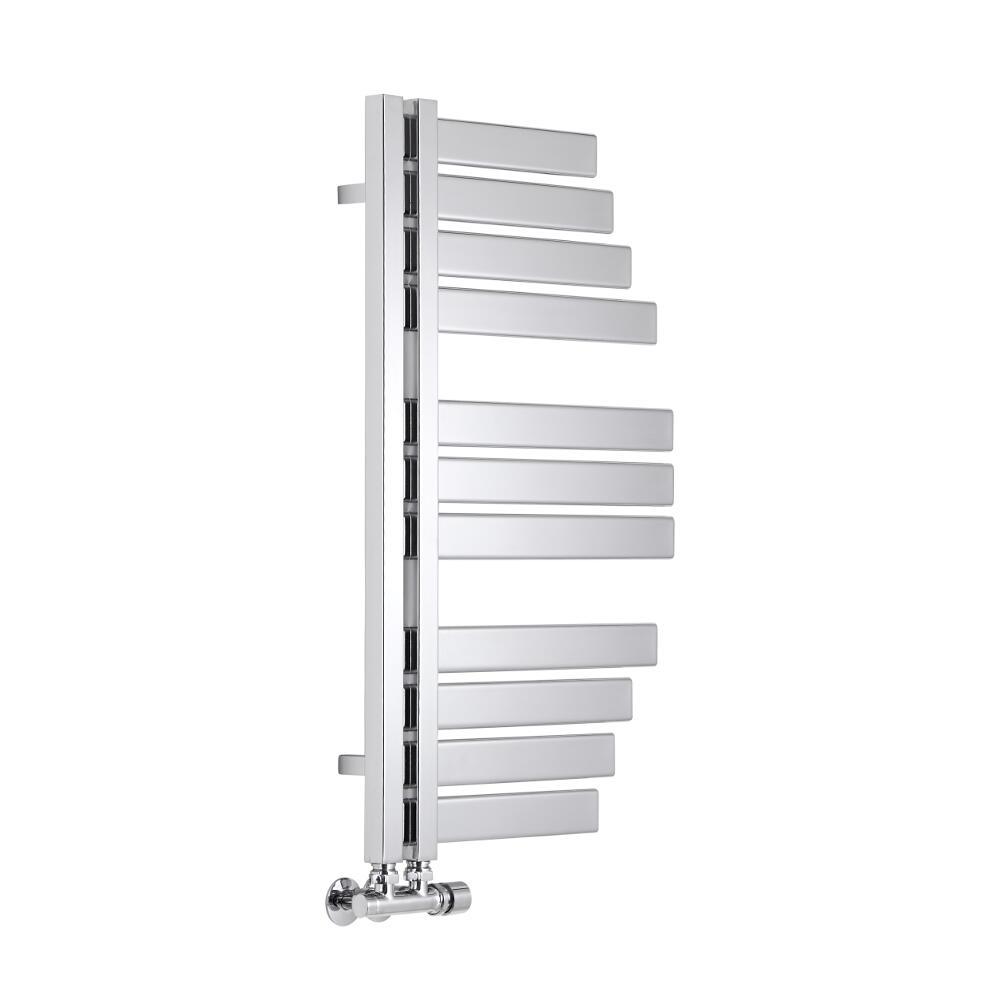 Lazzarini Way - Spinnaker - Chrome Designer Heated Towel Rail - 800 x 463mm