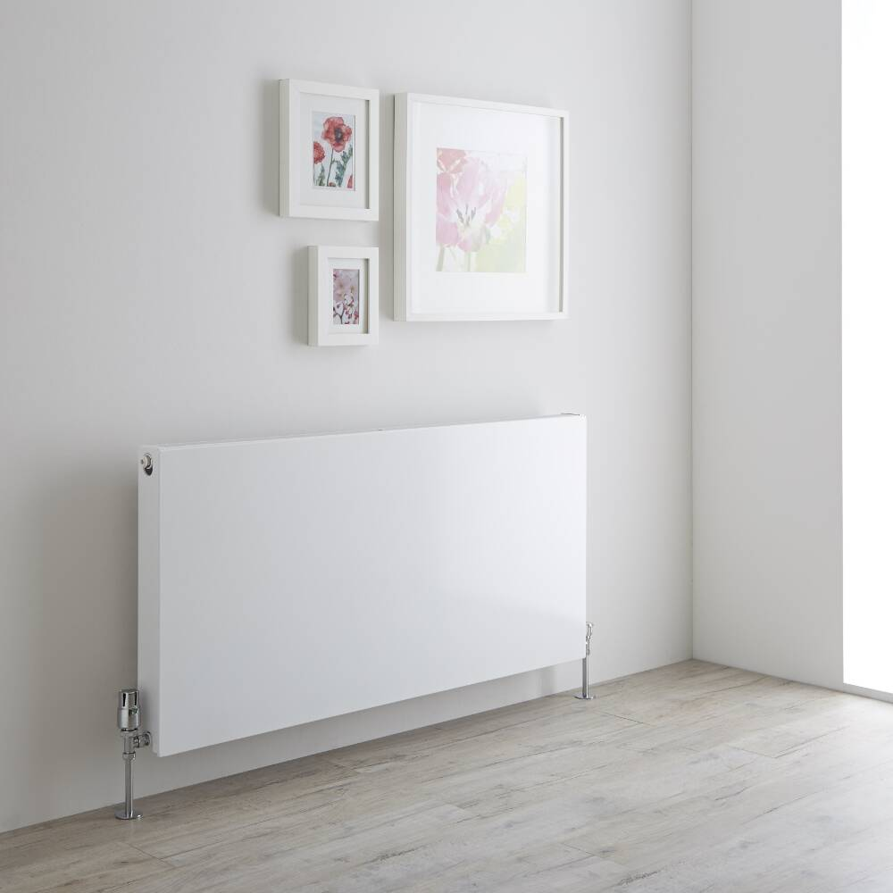 Milano Mono- Double Flat Panel Plus Convector Radiator - 600mm x 1200mm