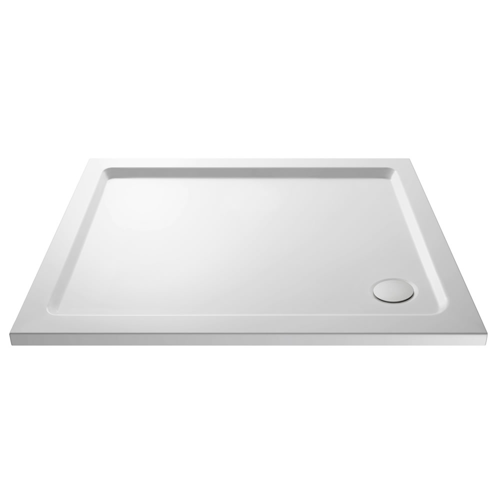 Pearlstone Rectangular Shower Tray 1000 x 800mm