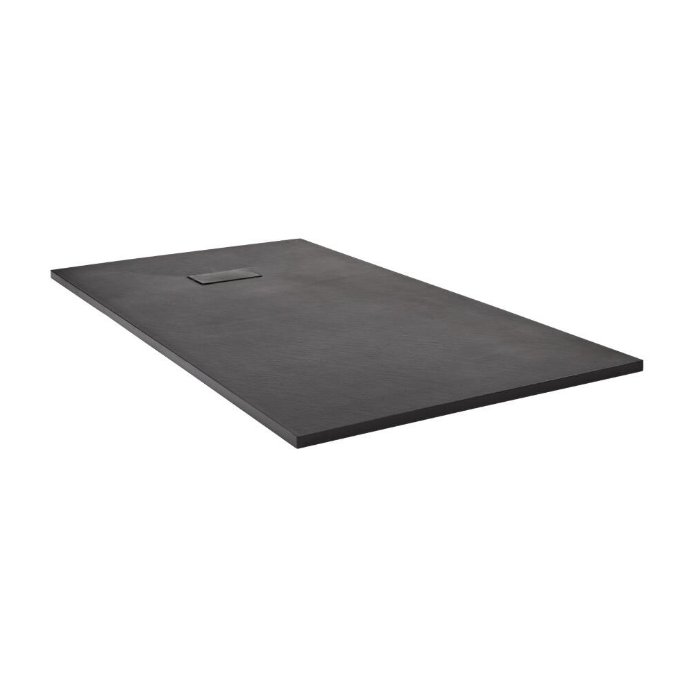 Milano Slate Effect Rectangular Shower Tray 1500x900mm