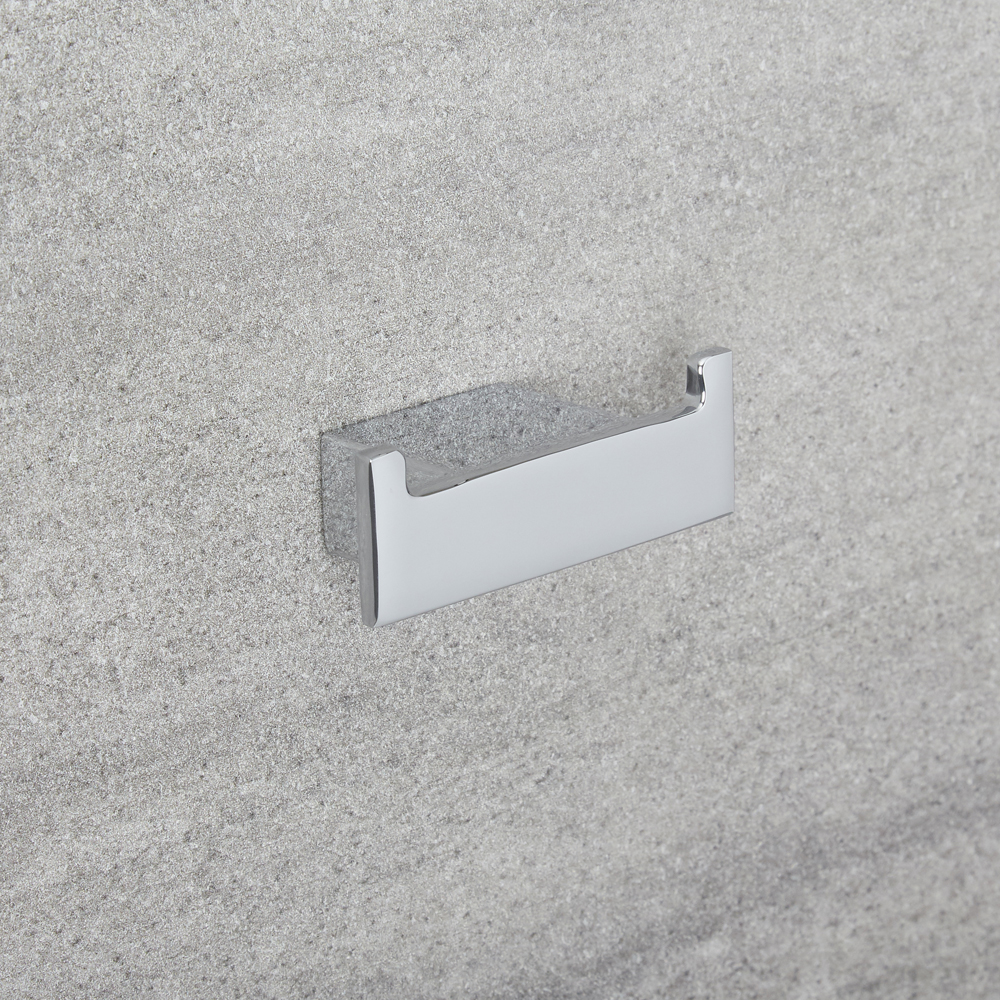Milano Arvo - Modern Robe Hook - Chrome