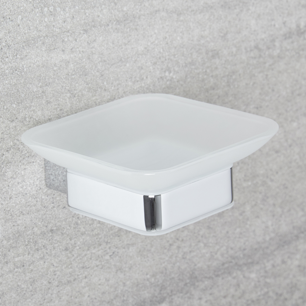 Milano Arvo - Modern Soap Dish - Chrome