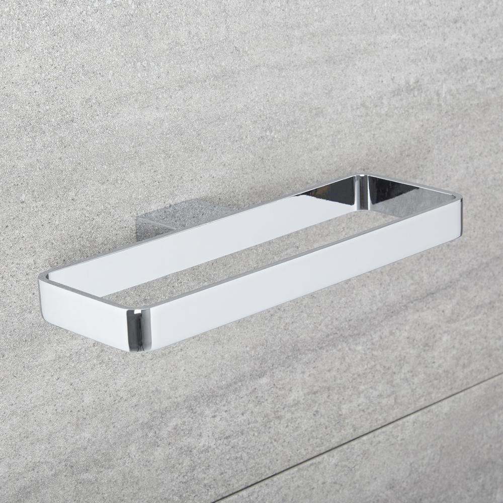 Milano Arvo - Modern Towel Ring - Chrome