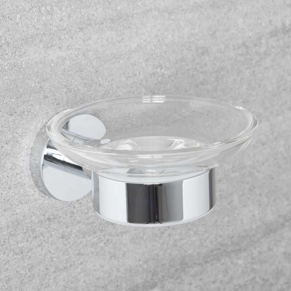 Milano Mirage - Modern Soap Dish - Chrome