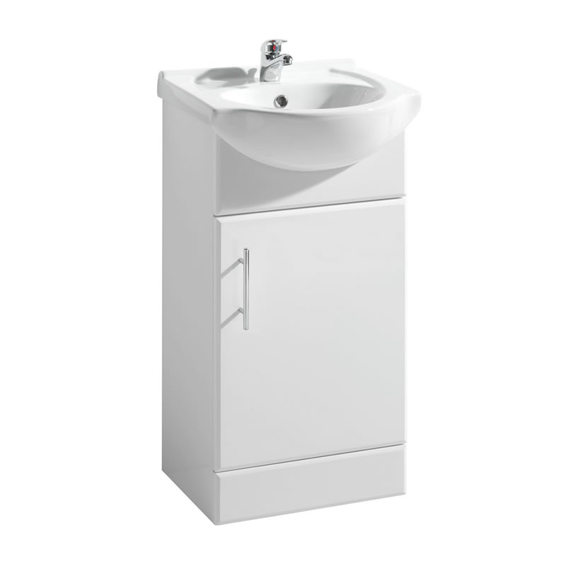 Premier 450mm x 300mm Vanity Unit Cabinet and Basin