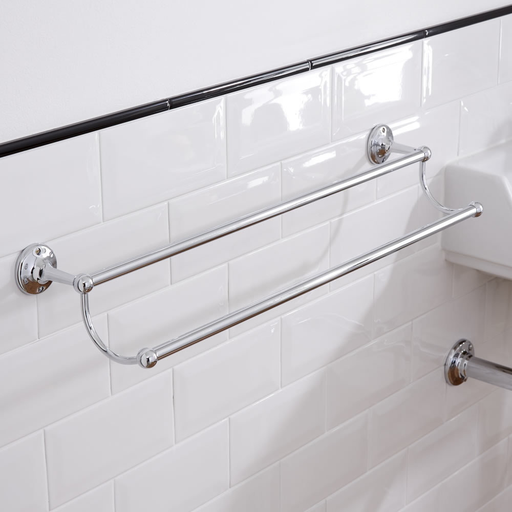 Milano Ambience Double Towel Rail