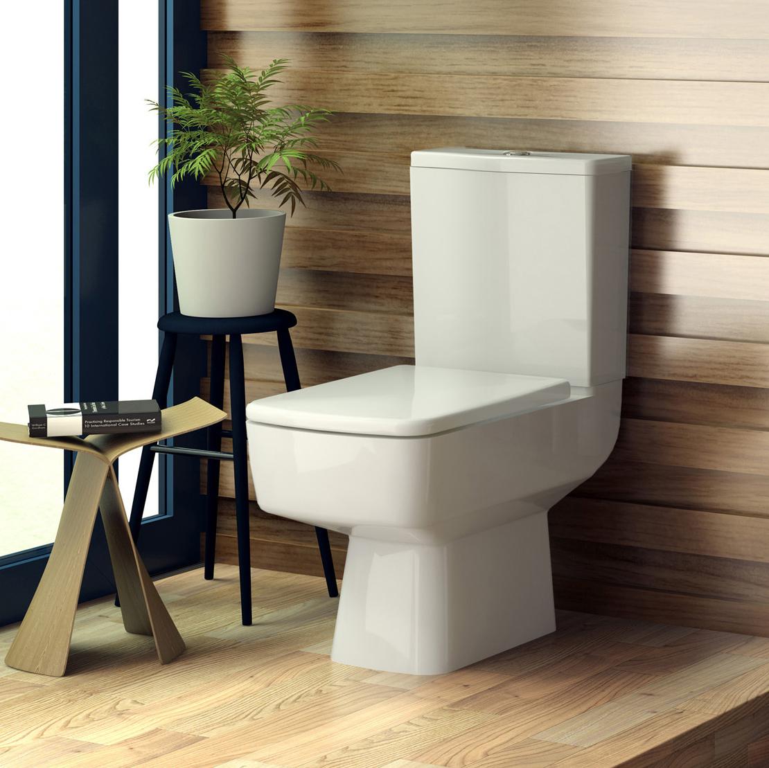 Milano Farington Toilet, Cistern and Soft Close Seat