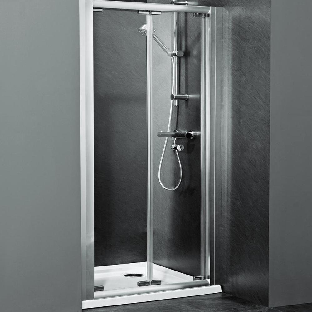 Premier Ella Bi Fold Shower Door sizes 760- 900mm from