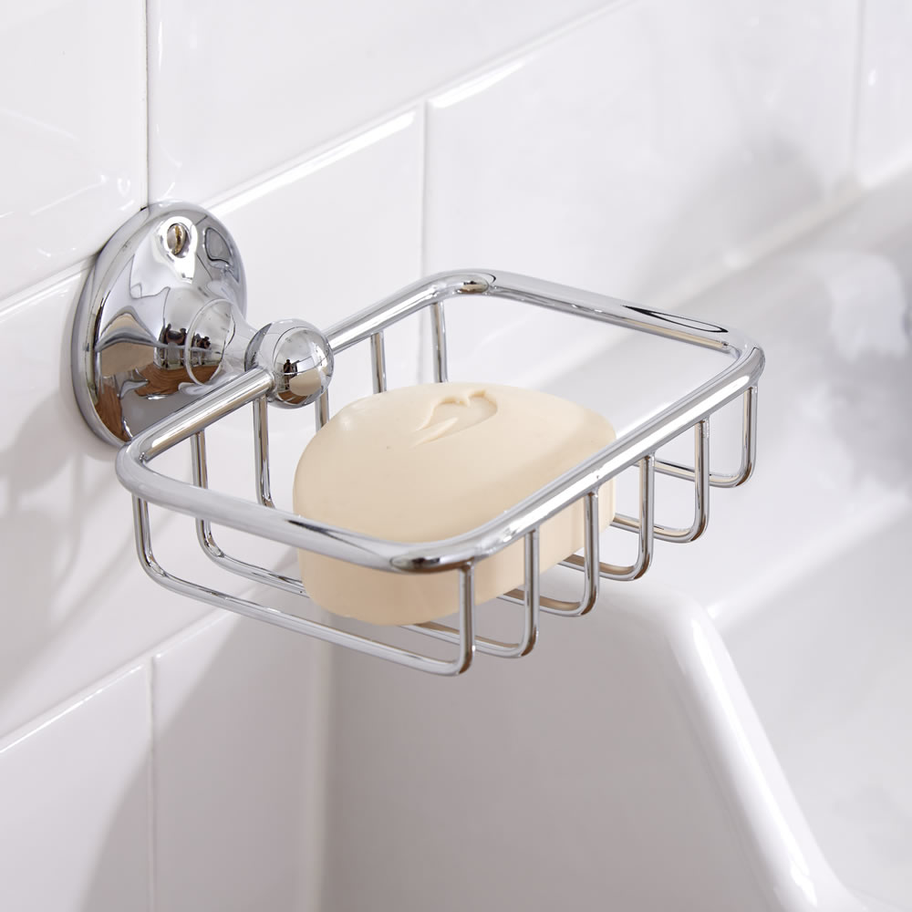 Milano Ambience - Soap Basket - Chrome