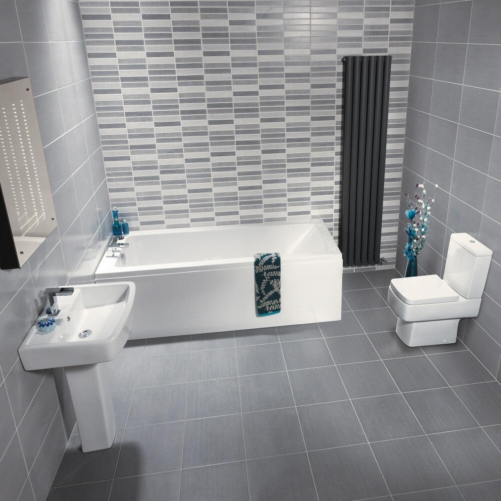 Milano Jewel 1500mm Small Bathroom Suite