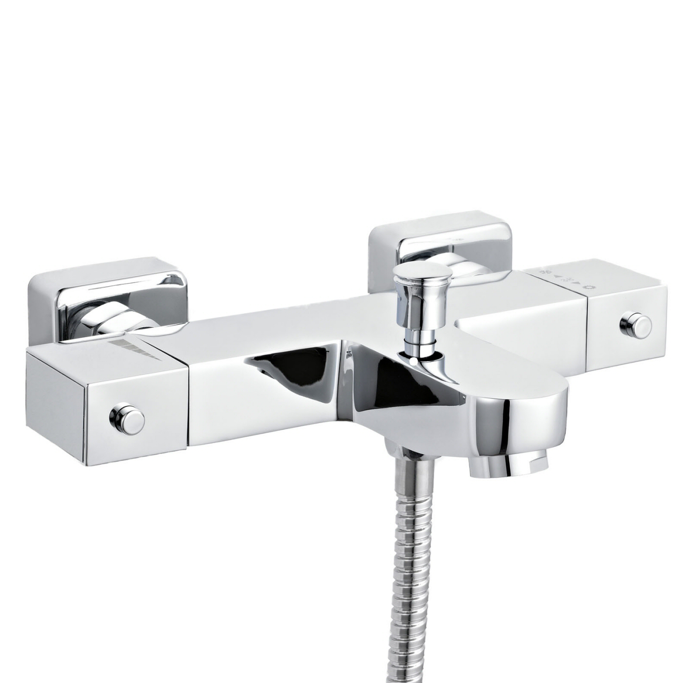 Premier Thermostatic Bath Shower Mixer Anti Scald Tap