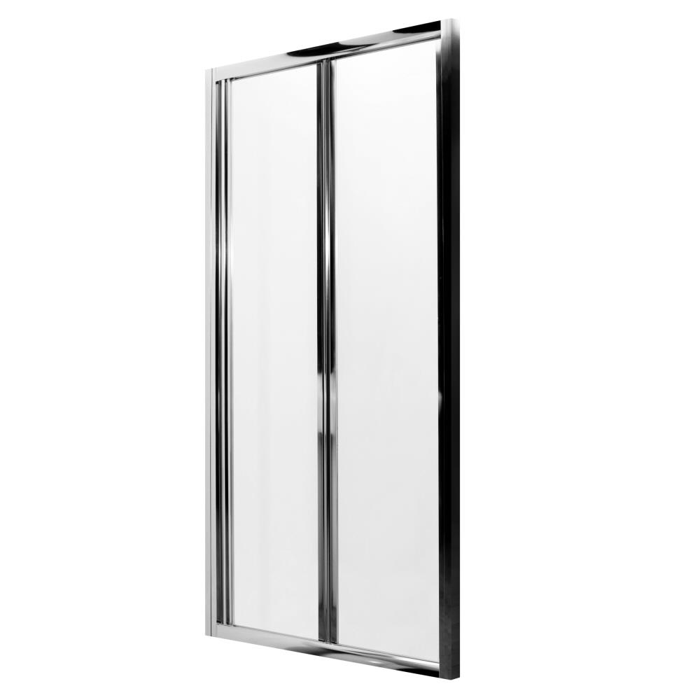 Milano Portland Complete Bi-Fold Shower Enclosure With Tray, End Panel & Waste 900 x 900mm