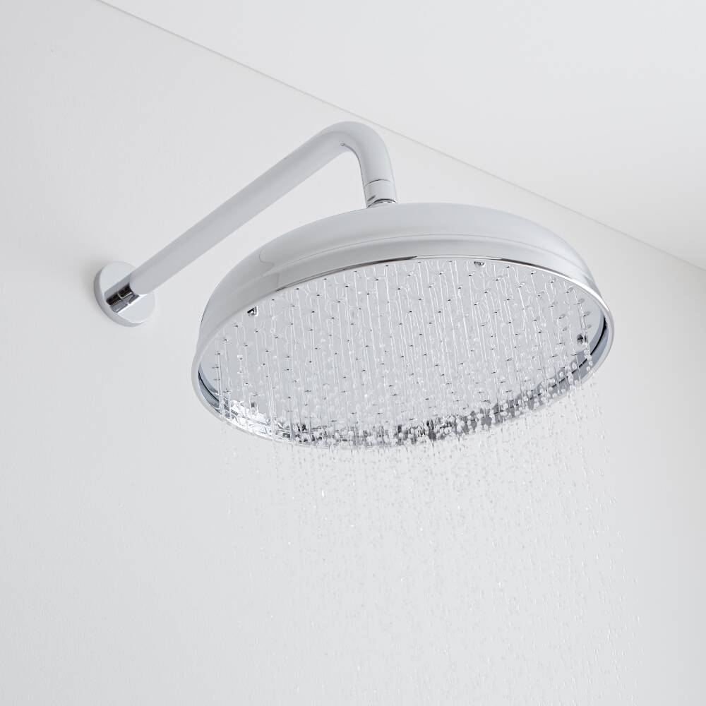 Milano Elizabeth - Apron Shower Head - Chrome