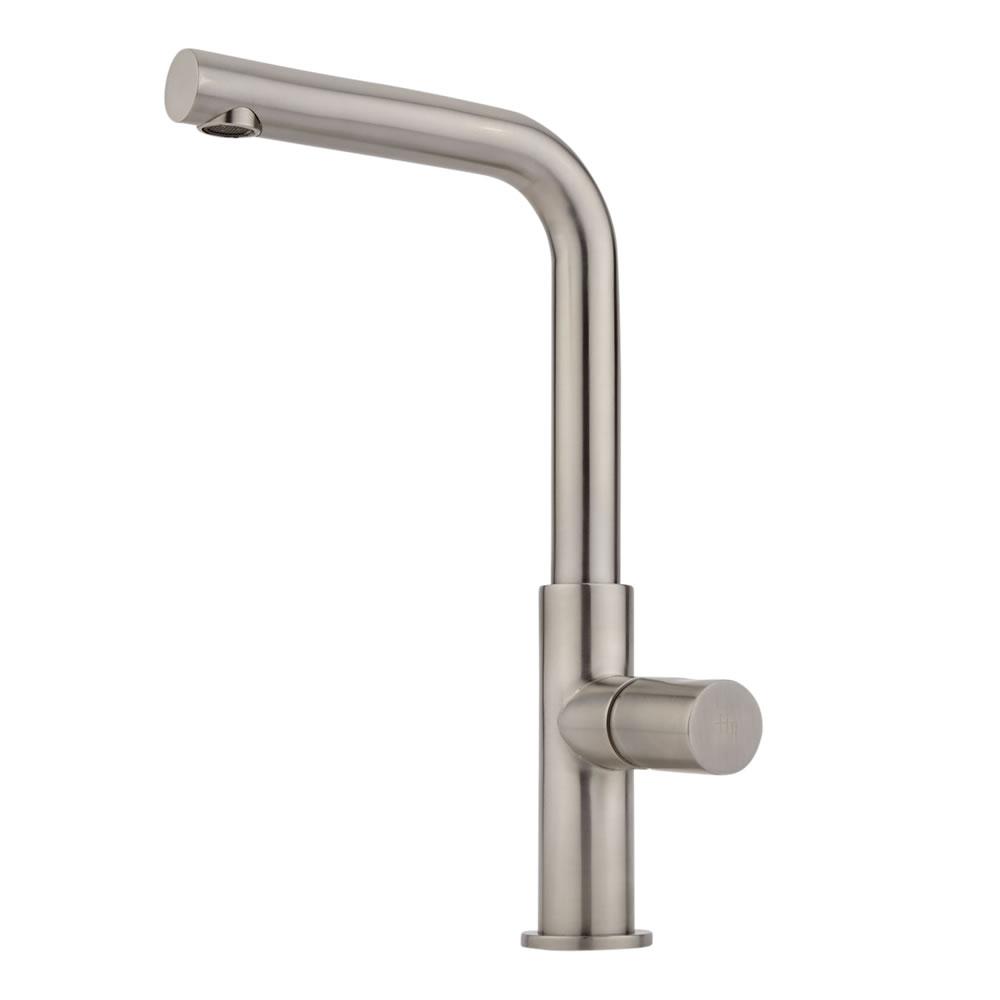 Milano Bomere Mono Basin Mixer - Stainless Handle