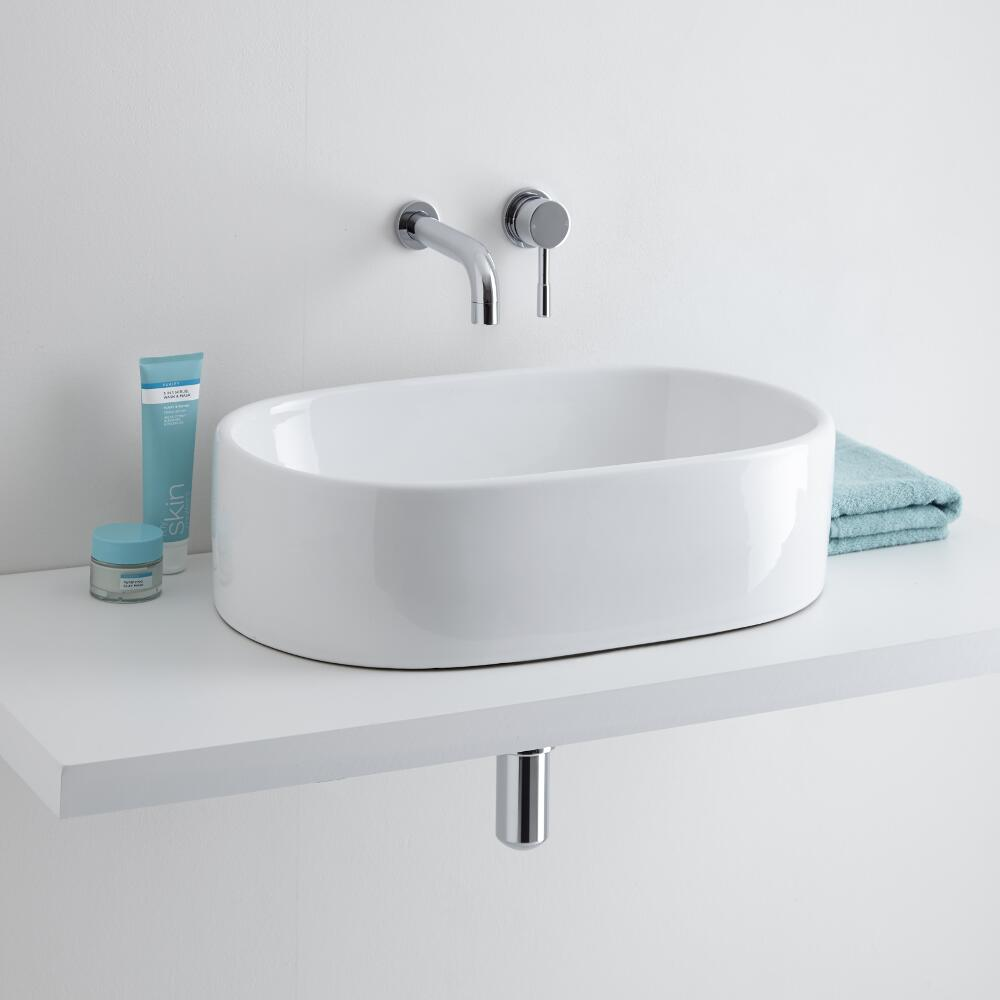 Milano Overton 480mm Basin with Tap