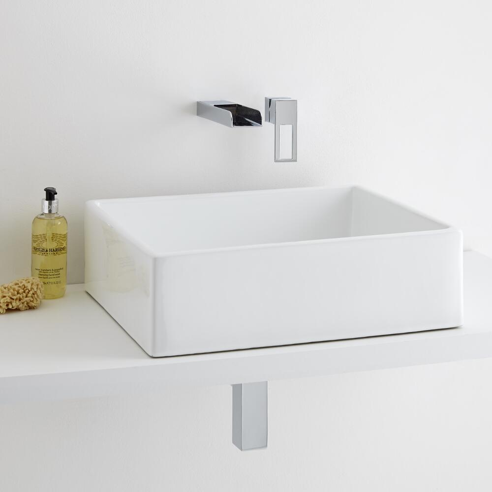 Milano Westby 490mm Basin with Mixer Tap