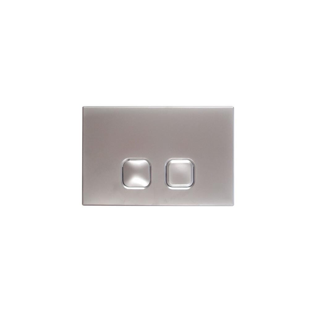 Milano - Chrome Square Flush Plate - 150mm x 230mm