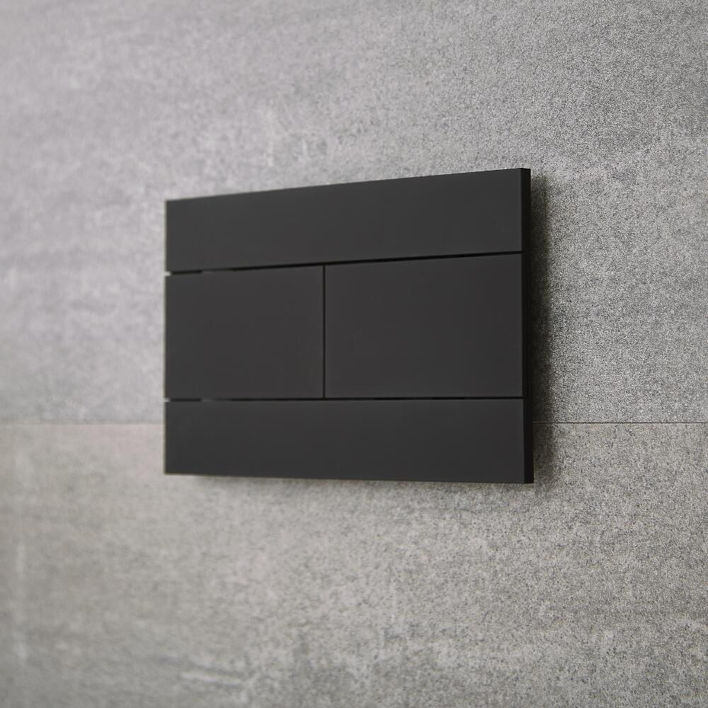 Milano Nero - Flush Plate - Black