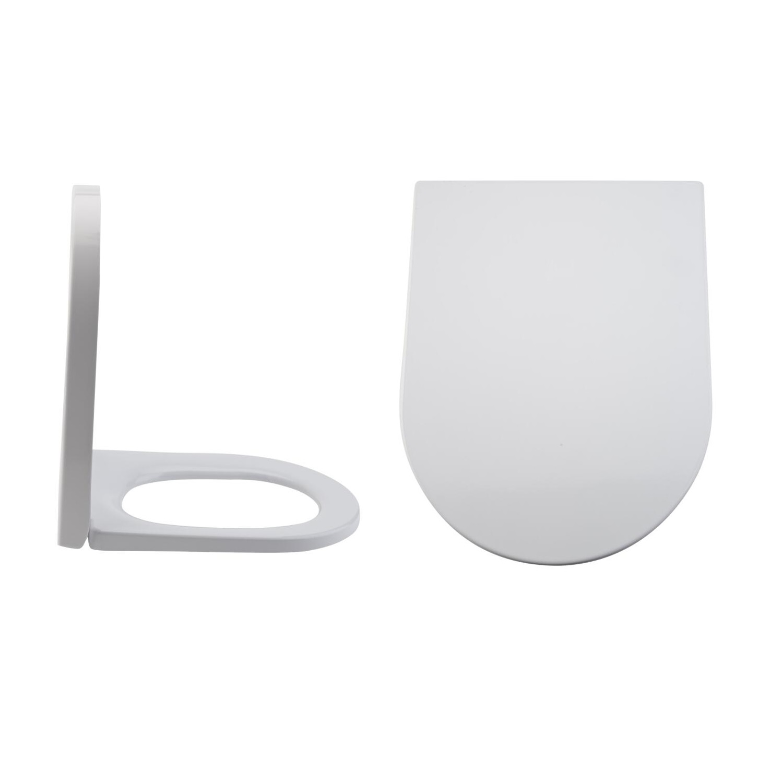 Milano Rivington - Soft-Close Quick Release Top Fix Toilet Seat - 445mm x 360mm