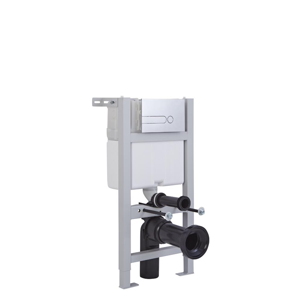 Milano Wall Mounting Fixing Frame and Cistern 820mm x 400mm