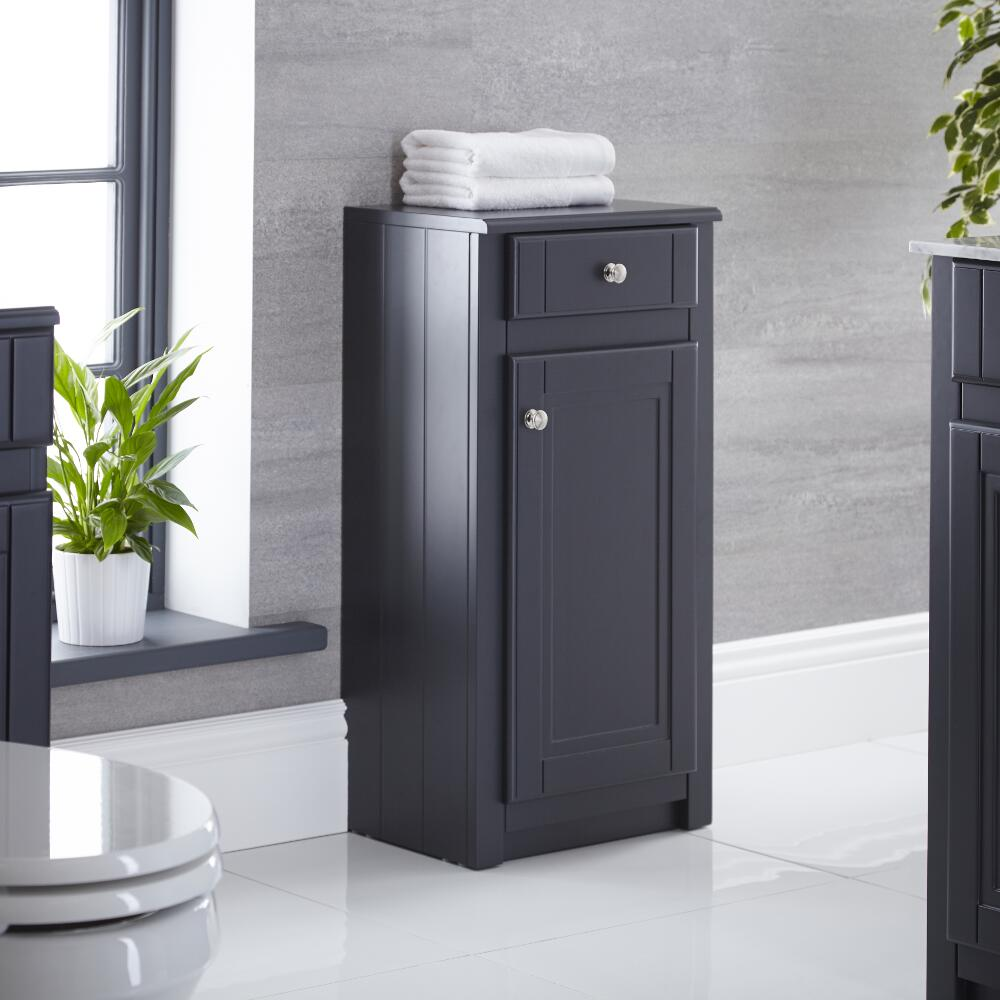 Milano Edgworth 400mm Traditional Storage Unit - Anthracite