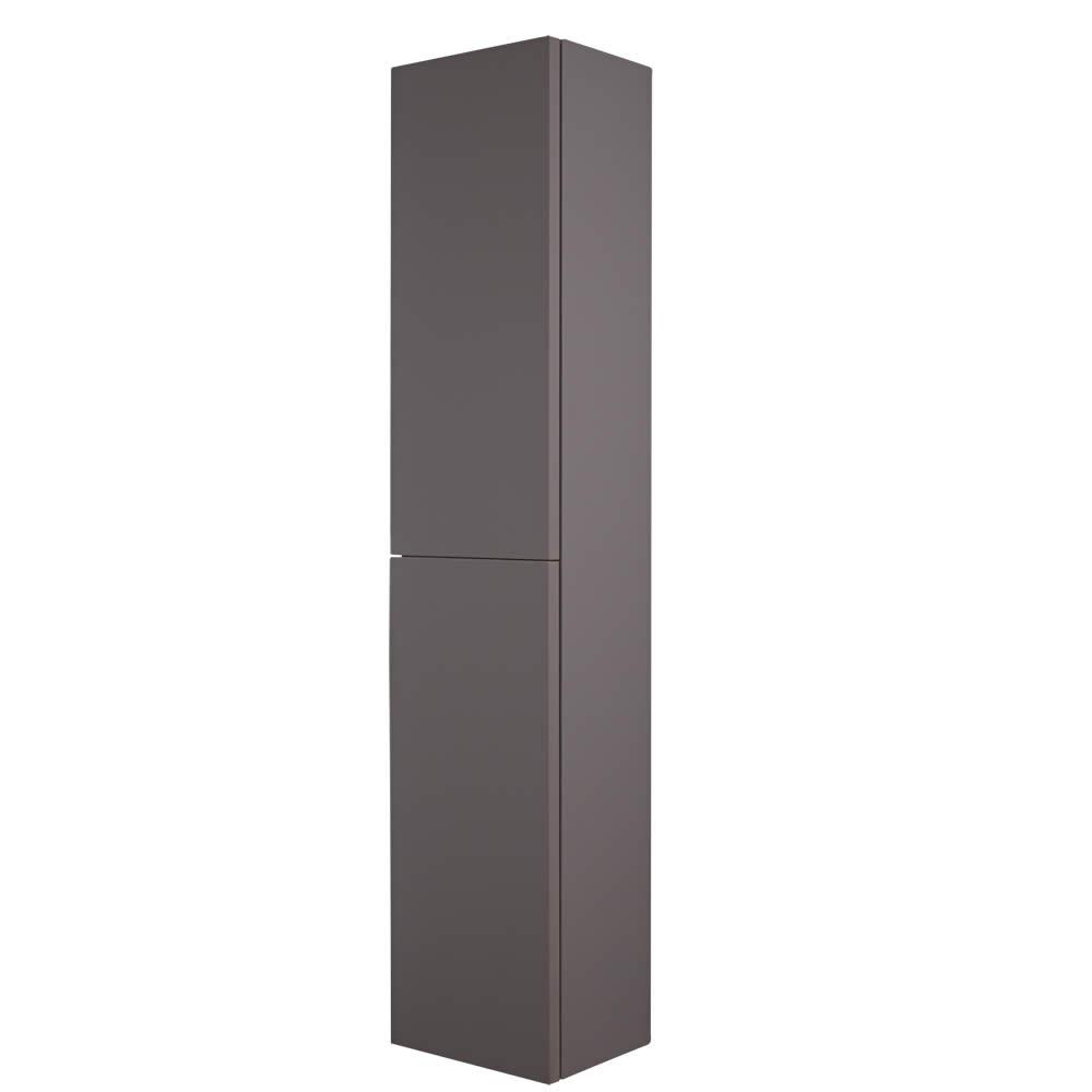 Milano Oxley - 350x1500mm Closed Storage Unit - Matt Grey