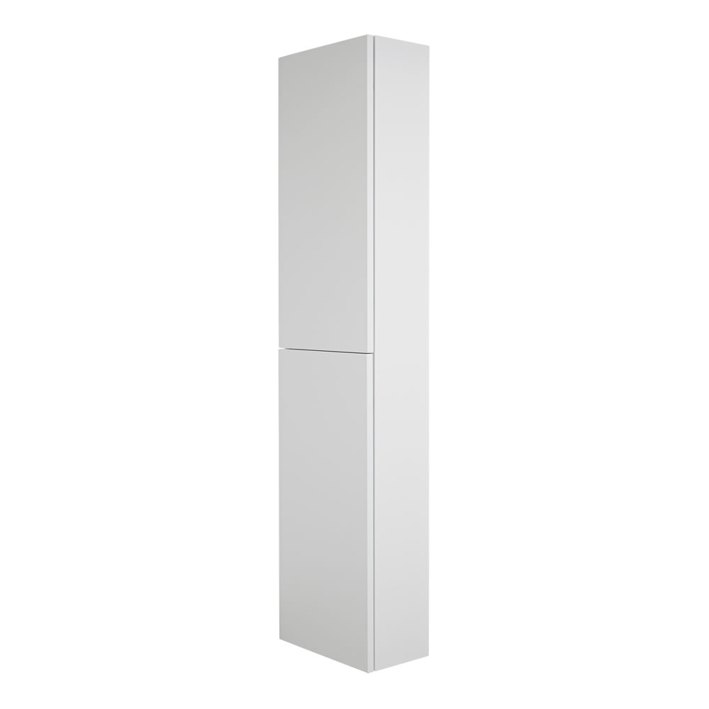 Milano Oxley - 350x1500mm Closed Storage Unit - Matt White