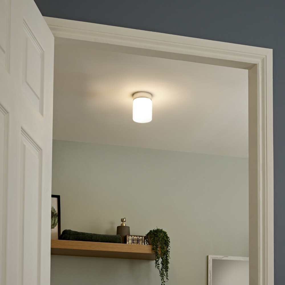 Milano Tama LED Bathroom Ceiling Light - Round