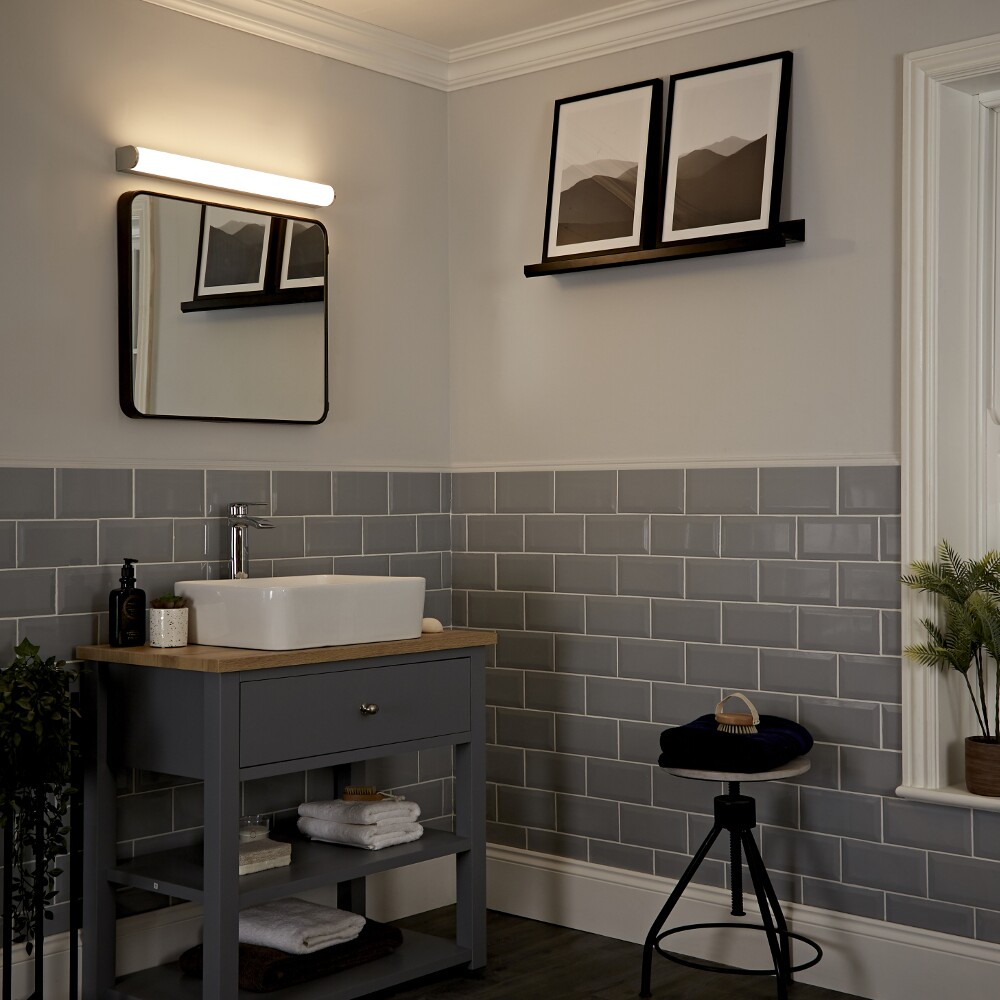 Milano Darent Curved LED Wall/Over Mirror Light
