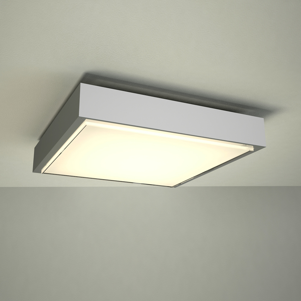 Milano Orchy LED Bathroom Ceiling Light - Square