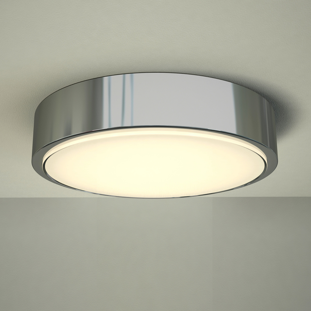 Milano Orchy LED Bathroom Ceiling Light - Round