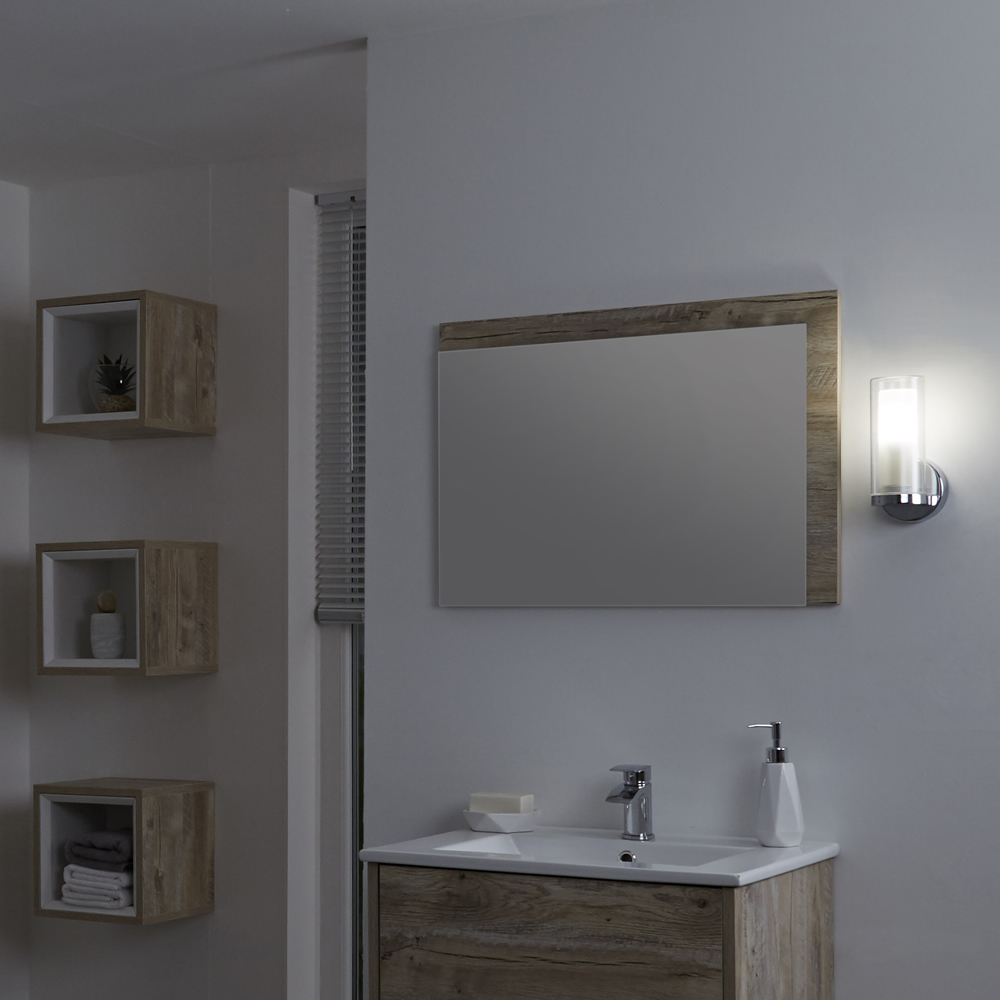 Milano Fischa Straight Bathroom Wall Light