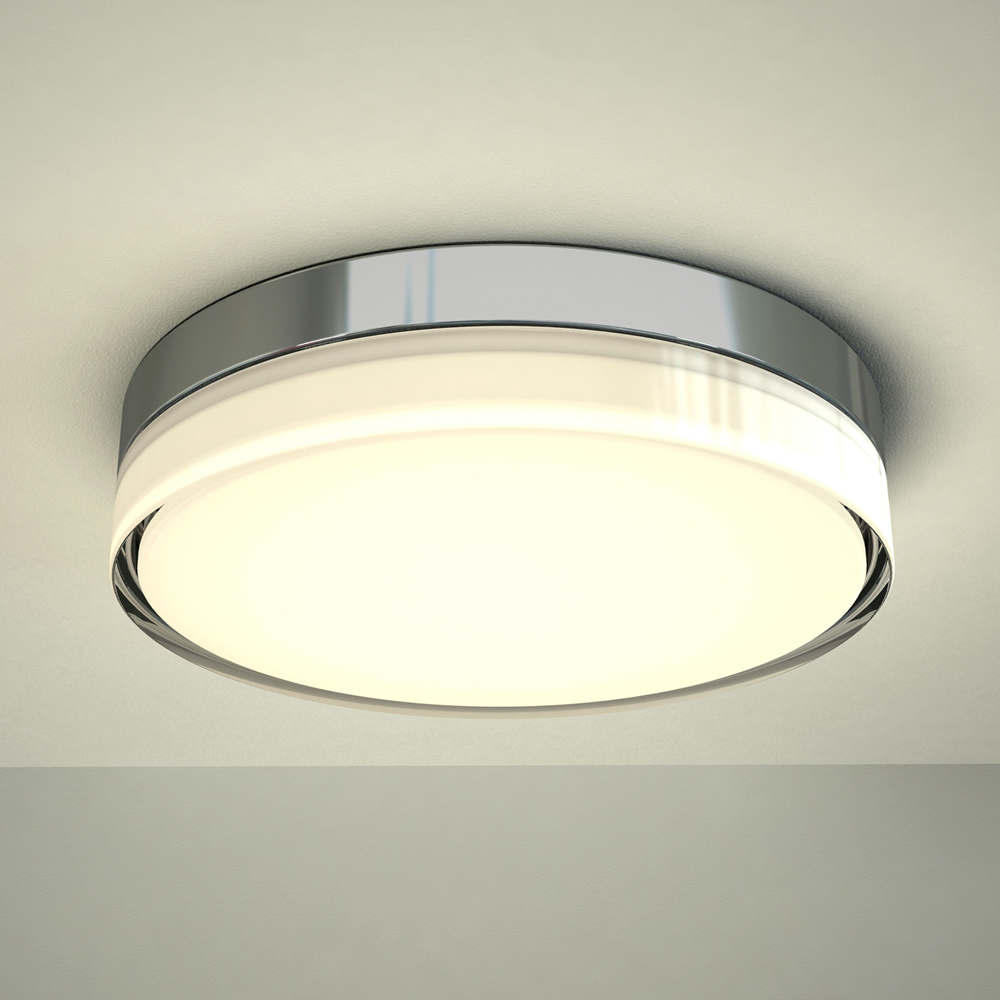 Milano Fischa LED Bathroom Ceiling Light