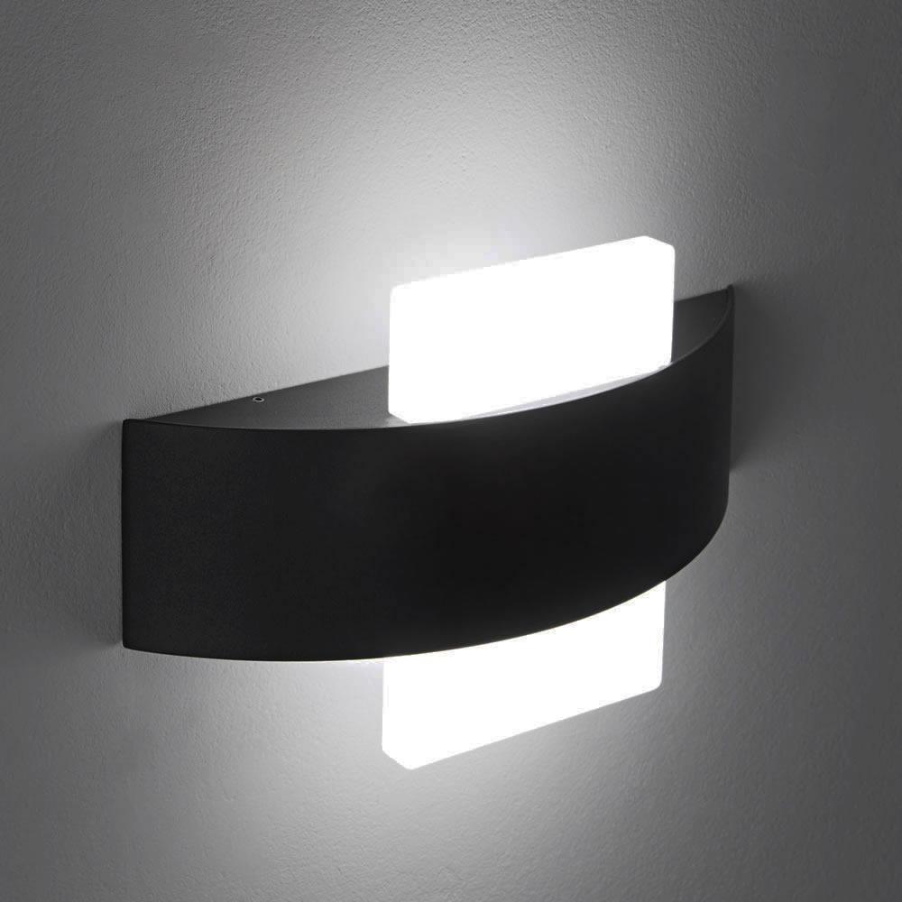 Biard Aqua Square LED Wall Light - Black